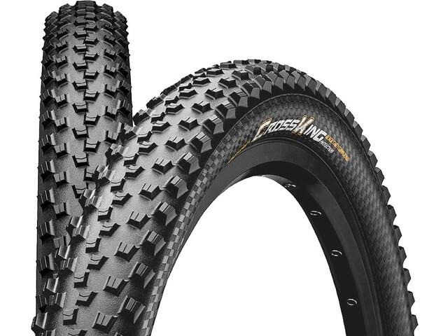 "Continental Cross King 2.6 Folding Tyre 27.5"" TL-Ready E-25, black"